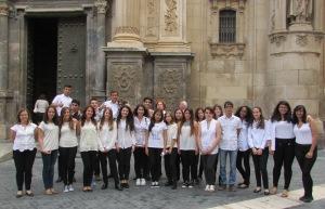"""El Coro """"Licenciado Cascales"""" en el Encuentro de coros """"Cantemus 2014"""""""