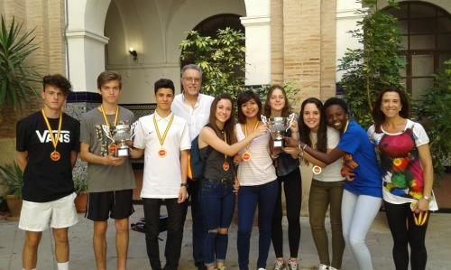 Ganadores Cross, Deporte escolar 2015