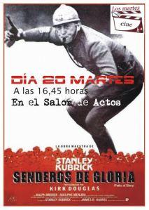 Los martes: cine e historia. Senderos de gloria