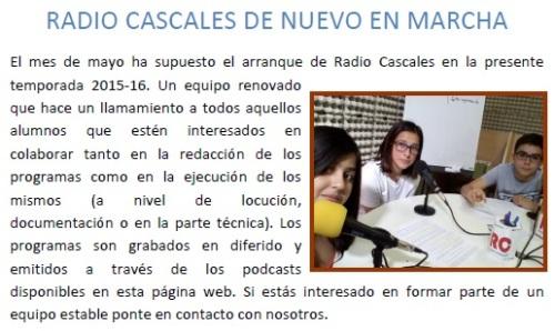 radio cascales 2016